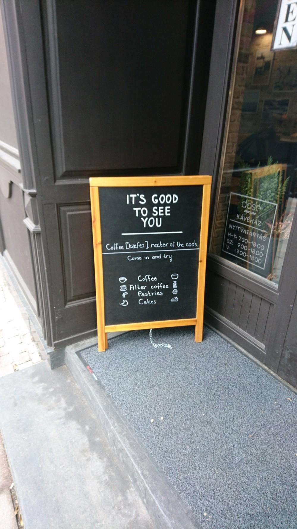 Dose Café Budapest